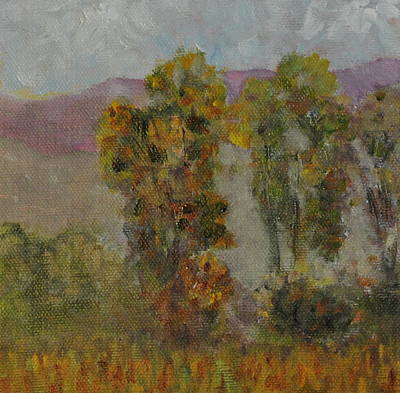 Painting - Field by Calliope Thomas