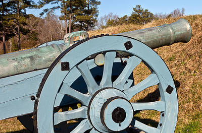 Photograph - Field Gun Cannon by Melinda Fawver