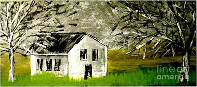 Painting - Field House by Amy Sorrell