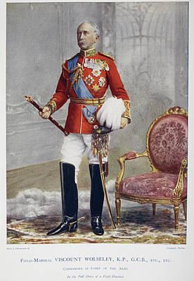Field Marshall Viscount Wolseley Art Print by British Library