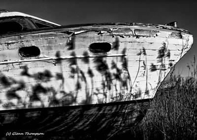 Field Of Boats Art Print by Glenn Thompson