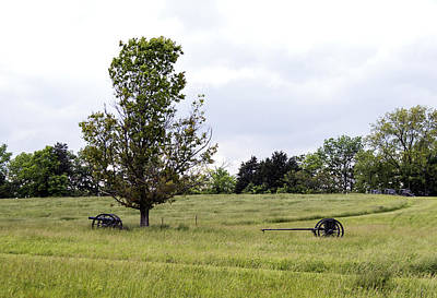 Photograph - Field Of Cannons 1 by David Lester