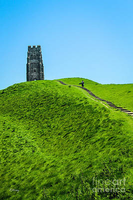 Photograph - Field Of Dreams- Glastonbury Tor Somerset Uk by Rene Triay Photography