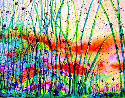Painting - Field Of Dreams by Hazel Holland