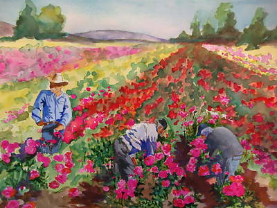 Painting - Field Of Dreams by Luz Perez