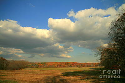 Clouds Photograph - Field Of Dreams by Neal Eslinger