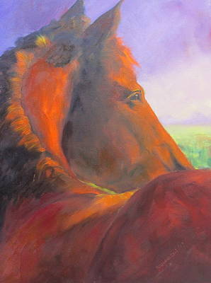 Susan Richardson Painting - Field Of Dreams by Susan Richardson