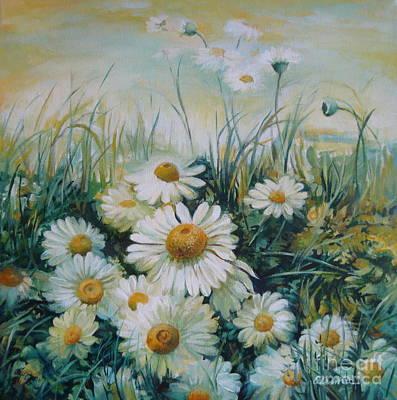 Field Of Flowers Original by Elena Oleniuc