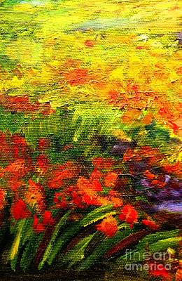 Painting - Field Of Flowers by Hazel Holland