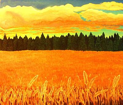 Field Of Gold Art Print