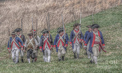Field Of Honor American Revolution Art Print by Randy Steele