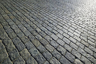 Photograph - Field Of Paved Bricks by Don Landwehrle