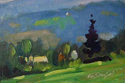 Painting - Field Study by Len Stomski