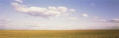 Monticello Photograph - Field, Utah, Usa by Panoramic Images