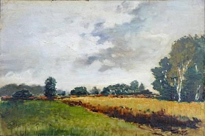 Painting - Fields In Kwiatkowice - Poland by Irek Szelag