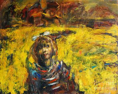 Fields Of Gold Art Print by Michal Kwarciak
