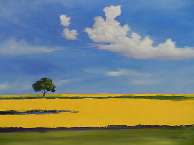 Painting - Fields Of Gold by Robert Teeling
