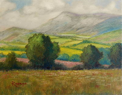 Painting - Fields Of Tipperary   Ireland by Bernie Rosage Jr