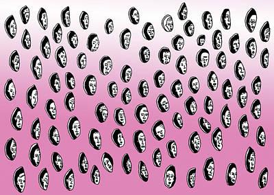 _fieles_ Art Print by Lino Divas