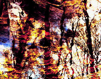 Photograph - Fiery Reflections by Shawna Rowe