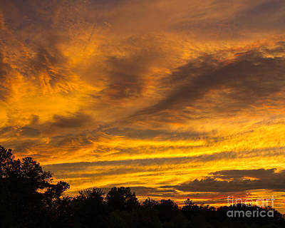 Photograph - Fiery Skies by Dale Nelson