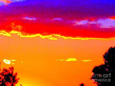 Western Australia Photograph - Fiery Sunset by Roberto Gagliardi
