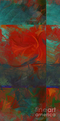 Fiery Whirlwind Onset Art Print by CR Leyland
