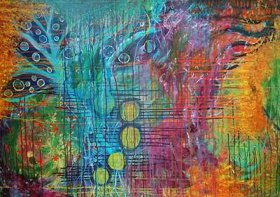 Painting - Fiesta 8 by Gillian Pearce