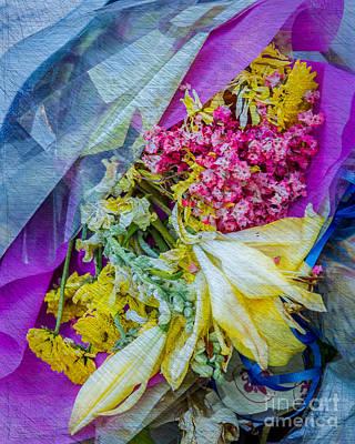 Digital Art - Fiesta In Blue by Susan Cole Kelly Impressions
