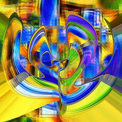 Digital Art - Fiesta by rd Erickson