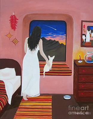 Chihuahua Painting - Fiesta's Room by Lori Ziemba