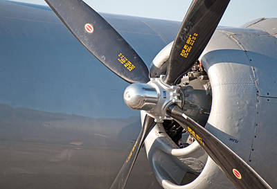 Photograph - Fifi - Engine And Prop by John Black