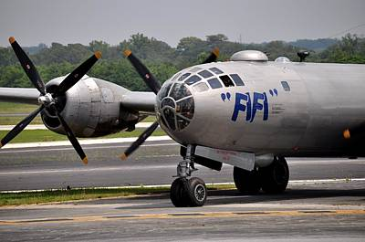 Photograph - Fifi - Boing B-29 Superfortress by John Black