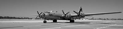 Photograph - Fifi.  Enola Gay's B29 Superfortress Sister Visits Modesto Kmod. by John King