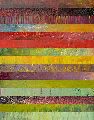 Painting - Fifteen Stripes No. 3 by Michelle Calkins