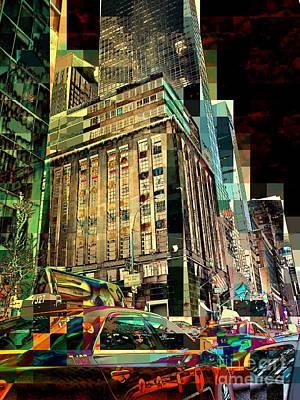 Photograph - Fifth Avenue 1 - New York Street Scene by Miriam Danar