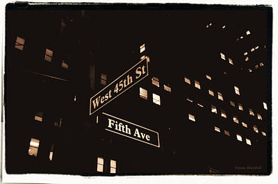 Photograph - Fifth Avenue by Donna Blackhall