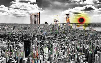 Digital Art - Fifth City  by Mary Clanahan