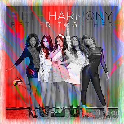 Fifth Harmony Art Print by Marvin Blaine
