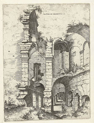 Sight Drawing - Fifth Sight Of The Colosseum In Rome, Italy by Artokoloro
