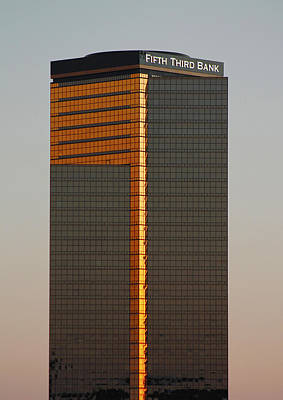 Photograph - Fifth Third Bank Building by Danielle Allard