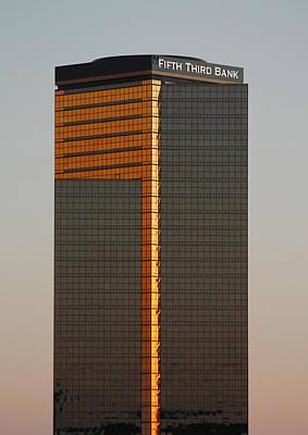 Photograph - Fifth Third Bank Building by Danielle Allard
