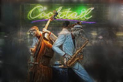 Night Club Photograph - Fifties Cocktail Jazz by Joachim G Pinkawa