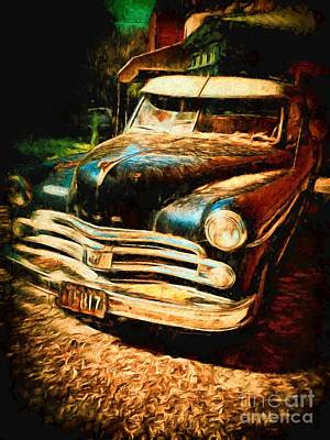 Photograph - Fifties Dodge by Claire Bull
