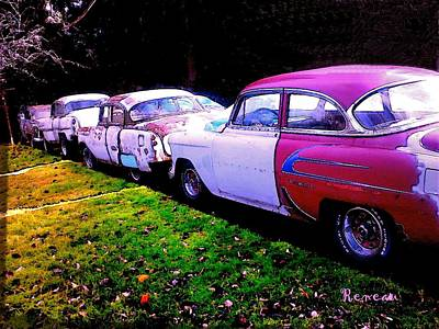 Photograph - Fifty-four Chevy Heaven by Sadie Reneau