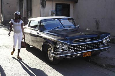 Fifty Nine Buick Electra Havana Art Print