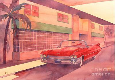 Automobilia Painting - Fifty Nine by Robert Hooper