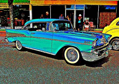 Photograph - Fifty Seven Chev by Stanley Funk
