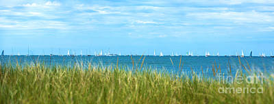 Cape Cod Photograph - Figawi Sailboat Race by Diane Diederich