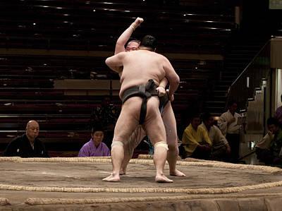Photograph - Fight by Masami Iida